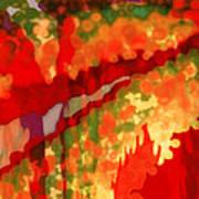 Autumn In The Piedmont Art Print by Patricia L Conklin