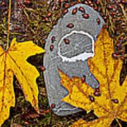 Autumn Ladybugs Art Print