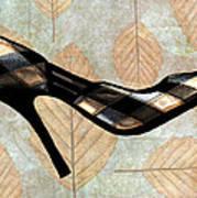Autumn Leaves Stilettos Art Print