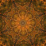 Autumn Mandala 2 Art Print
