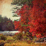 Autumn Of Yesteryear Art Print