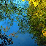 Autumn Reflections New Hampshire II Art Print
