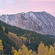 Autumn Rocky Mountains Art Print