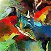 Autumn Streamside 030212 Art Print