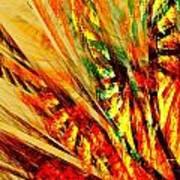 Autumn Sunshine Series-2 Art Print