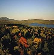 Autumn View Across Baxter State Park Art Print