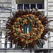 Autumn Wreath Art Print