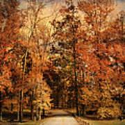 Autumn's Entrance Art Print by Jai Johnson