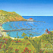Avalon Catalina Island Art Print