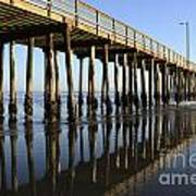 Avila Beach Pier California 2 Art Print