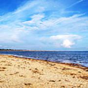 Avon Beach At Mudeford In Dorset Art Print
