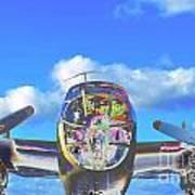 B-25j Jazzed Art Print by Lynda Dawson-Youngclaus