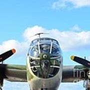 B-25j Killer B Print by Lynda Dawson-Youngclaus