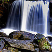 Babcock State Park Waterfall Art Print