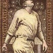 Babe Ruth The Bambino  Art Print