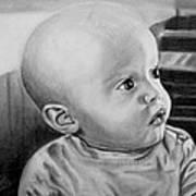 Baby Carter Art Print