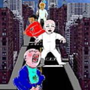 Baby City Art Print