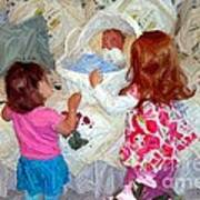 Baby Dolls Art Print