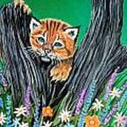 Baby Lynx Art Print