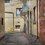 Back Alley Cityscape Art Print