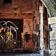 Back Alley In Leon Art Print