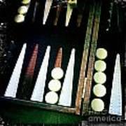 Backgammon Anyone Art Print