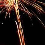 Backyard Fireworks 2012 3 Art Print
