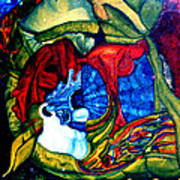 Backyard Planet Art Print by Dan Cope
