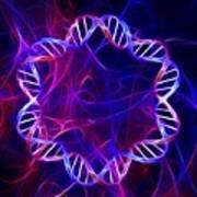 Bacterial Dna, Artwork Art Print