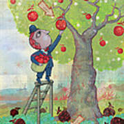 Bad Apples Good Apples Art Print