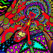 Bad Day - My Brain Is Sore Art Print