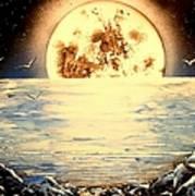 Bad Moon Rising Art Print