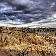 Badlands Of South Dakota Art Print
