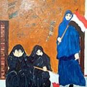 Bahraini Women Art Print by Andrea Friedell
