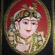 Bal Krishna Art Print by Asha Nayak