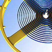 Balance Wheel Of A Watch, Artwork Art Print