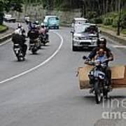 Balinese Transportation Art Print