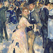 Ball At The Moulin De La Galette Art Print