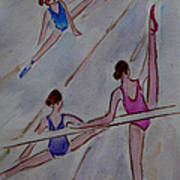 Ballerina Studio Art Print