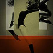 Ballet Dancing Art Print by Naxart Studio
