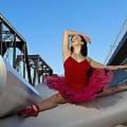 Ballet Splits Art Print