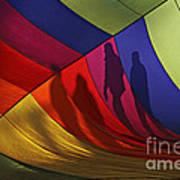 Balloon Shadows Art Print