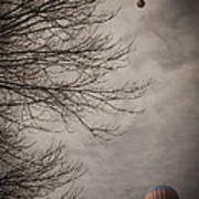 Balloons In The Pines Art Print