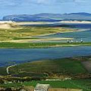 Ballyness, Co Donegal, Ireland Aerial Art Print