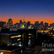 Baltimore At Sunset Art Print