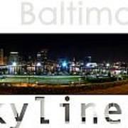 Baltimore Downtown Art Print