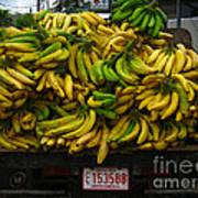Bananas For Sale  Art Print
