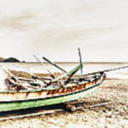 Banca Boat Art Print