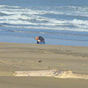 Bandon Oregon Beach Comber Prints Ocean Coastal Art Print