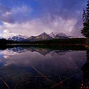 Banff - Herbert Lake Art Print